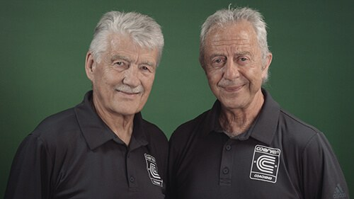 Alf Galustian & Charlie Cooke