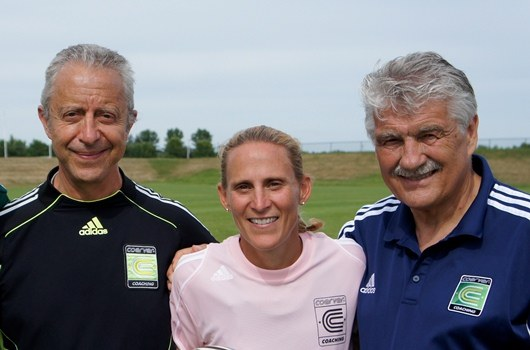 Kristine Lilly, Alfred Galustian & Charlie Cooke