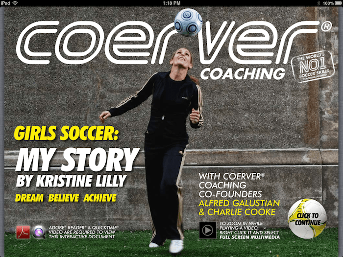 Girls Soccer - Dream Believe Achieve Cover